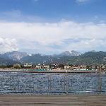 View from the Pier at Marina di Pietrasanta