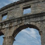 Pula's colosseum, Croatia