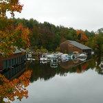 Boats on Little Squam Lake