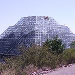 Exterior view of the Biosphere 2
