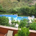 swimming pool of hotel Abba Garden in Barcelona