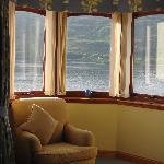 vistas del lago desde la habitacion