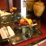 Fresh fruits in room