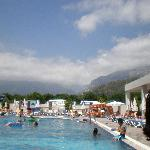 View of Mountains from pool