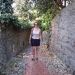 Stone Walkway to Town
