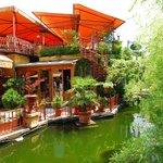 Budapest, Városliget, Robinson restaurant