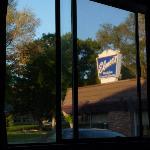 View of the good breakfast restaurant