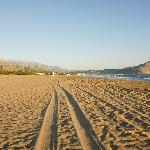 9 km langer Sandstrand bei Georgioupoli