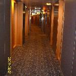 Hallway on 5th floor, on way to room 531