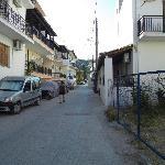 View of the street where Alkmene stands