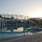 Pool near studios