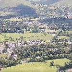 VIEW OVER KESWICK & PORTINSCALE FROM LATTRIGG