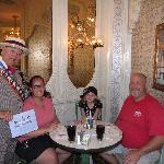 100th visitor to the Plaza Restaurant