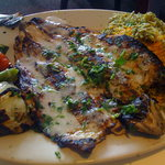 Our other entree - fish never tasted so good!