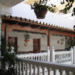 Outdoor Hallway at Las Rampas