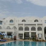 l'hôtel, face piscine