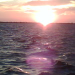 Sunset on the Banana River