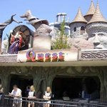 Exterior of Wizard's Quest