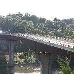 Potomac River Bridge to Maryland viewed from Bavarian Inn grounds