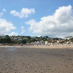 Saundersfoot from the beach