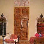 Common Area of Riad Safir, Meknes