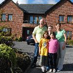 I Proprietari Ann e Michael e figlie