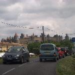 Close to medieval  Carcassonne