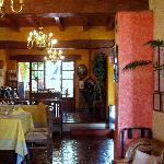 Las Mercedes dining room
