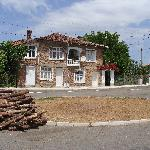 The village of Balgari - the place for the fire on the main square