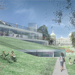 Peacock's proposed new Art Centre for Union Terrace Gardens, Aberdeen