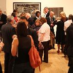 Preview night at the gallery