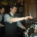 Our amazing bartender Ronnie