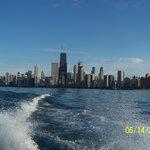 View from Lake Michigan