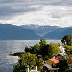 View from Hotel Balestrand Bedroom