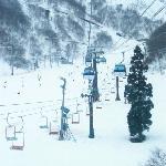 Chair lifts at Hakuba Goryu