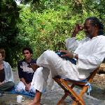 Yogiraj Teaching Outside
