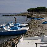 pedalò,canoe ed alghe