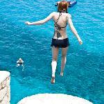 amanda jumping