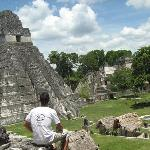 El las ruinas de guatemala
