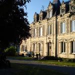 View of Domaine de Presle main building