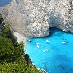 NAVAGIO FROM THE HILL