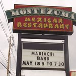 Montezuma's sign on Wayne Ave.
