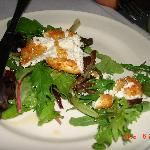 Where's the salad?  Goat Cheese Salad