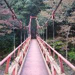 bridge at the end of the hike