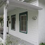 La Mansarde porch