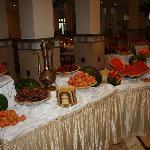 le buffet de fruits