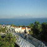 View across to Kakynthos