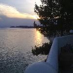 Stunning sun set
