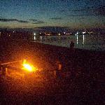 Campfire Nightlights and Views of the Bridge