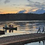 Evening Canoeing at Bonnie View